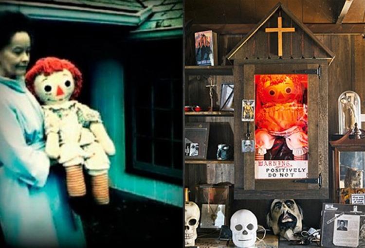 L'histoire vraie d'Annabelle La poupée démon