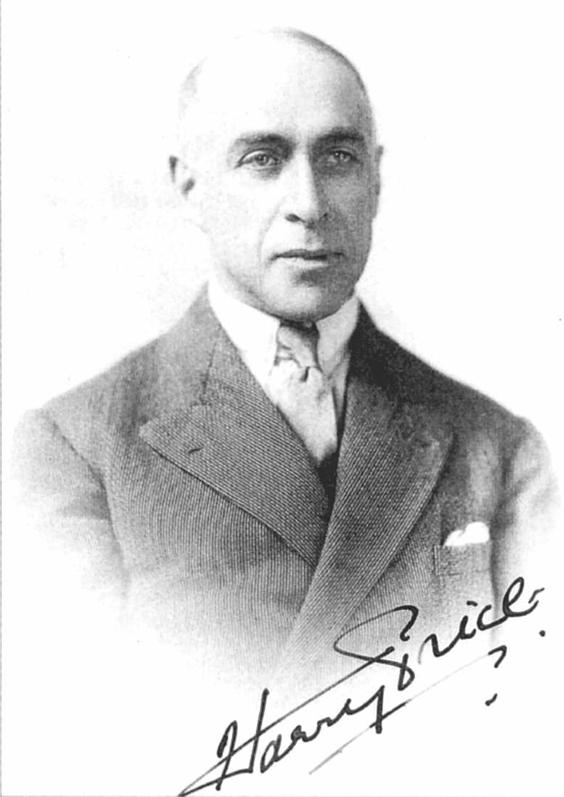 Esprits sacrés: Harry Price et la hantise du presbytère de Borley