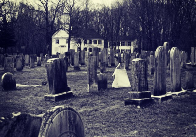Lady in White: The Haunted Burial Groun