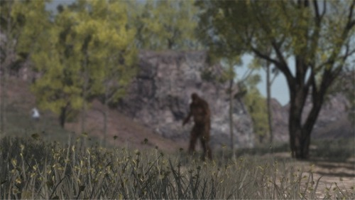 bigfoot, red dead redemption, john marston, rockstar, sasquatch