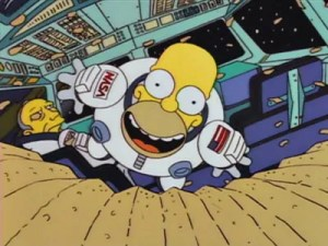 nasa, homer simpson, the simpsons