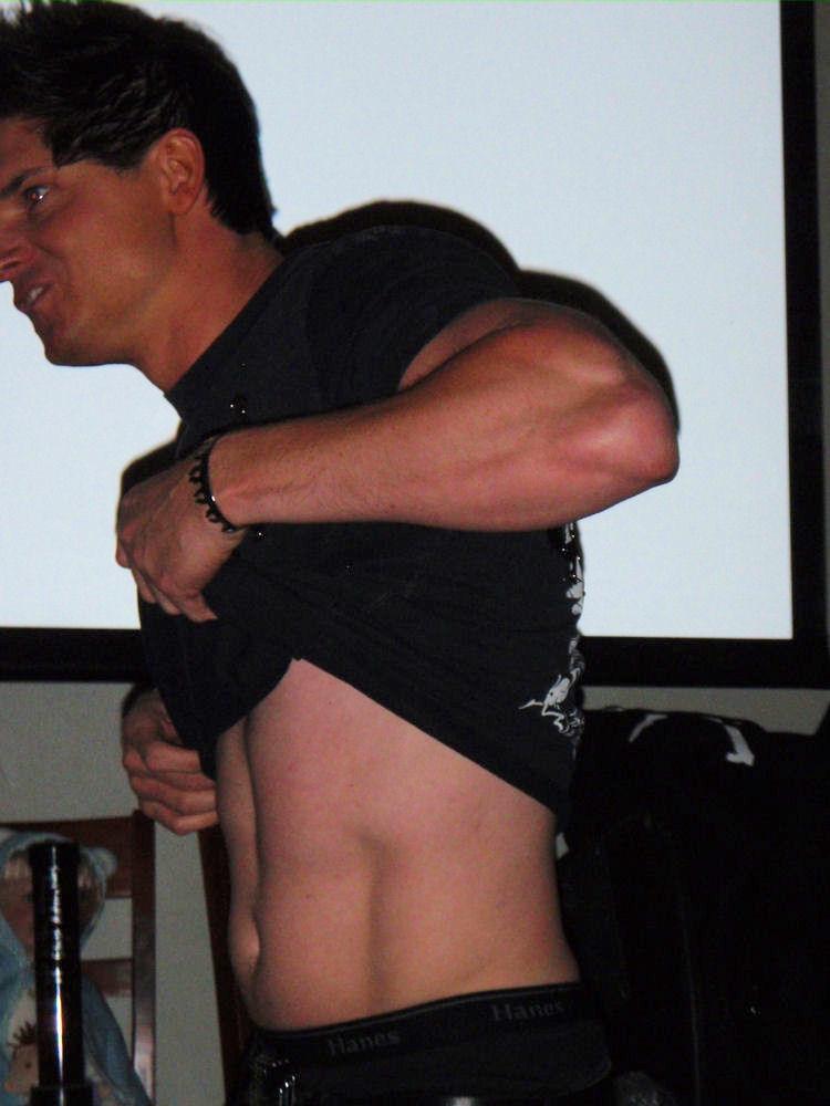Zak Bagans Muscle And Fitness Zak Bagans to Host Par...