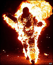 Spontaneous Human Combustion Victims