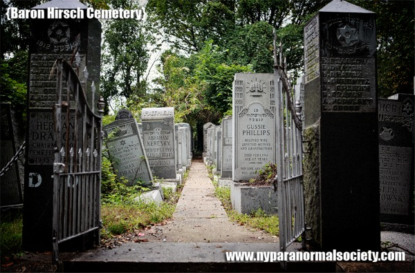 baron hirsch cemetery haunted staten island ny ghosts