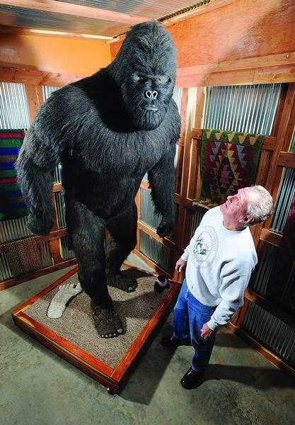 Clifford LaBrecque Bigfoot statue replica