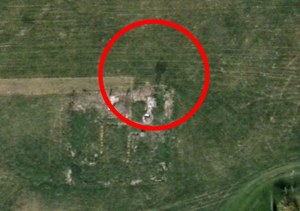 An alleged ghost caught on Google Earth