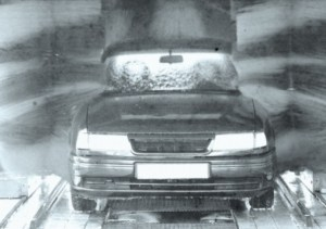 A car wash in England is allegedly haunted.