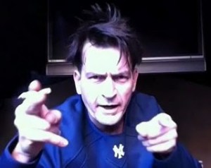 Charlie Sheen plans to head to Scotland to hunt the Loch Ness Monster.