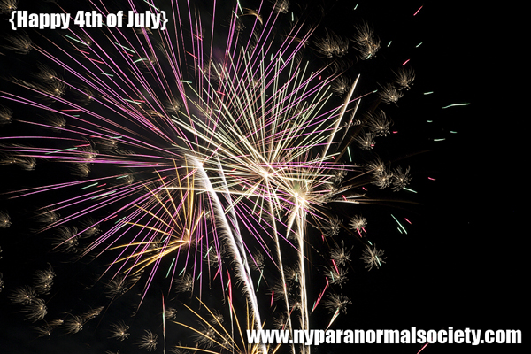 Fireworks from the New York Paranormal Society and The Occult Section!