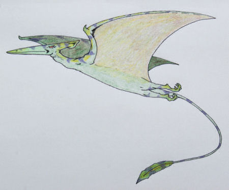 The Konganato, a flying cryptid from Africa