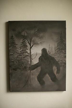 Bigfoot Painting