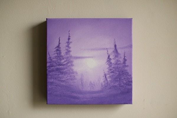 Bigfoot in the Violet Mist