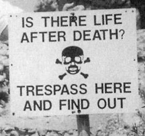 Ghost hunters trespassing