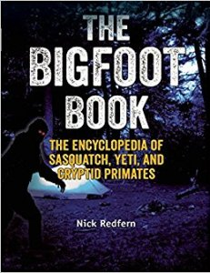 Bigfoot Book Nick Redfern encyclopedia