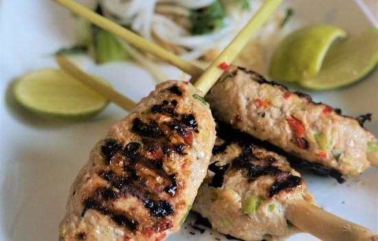 Lemongrass Pork Skewers | Vietnamese BBQ Pork Recipe