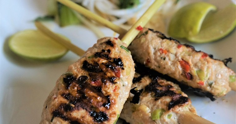 Lemongrass Pork Skewers | Vietnamese BBQ Pork Recipe