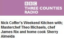 Listen to Theo on BBC 3CR Weekend Kitchen!