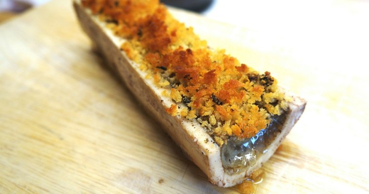 Bone Marrow Recipe | Roasted Bone Marrow Gratin – living the dream…!