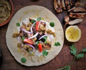 Chicken Gyro - Greek Street food by Theo Michaels BBQ Chicken