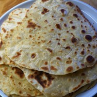 Monday 23rd March - Ingredients (kids cooking flatbreads)