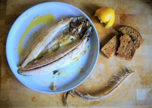 Kippers for breakfast - how to cook kippers Theo