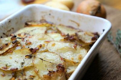 Layered Potato Bake Close Up Small