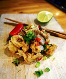 Deep Fried Calamari Recipe - Salt and Pepper Squid Recipe by Theo Michaels