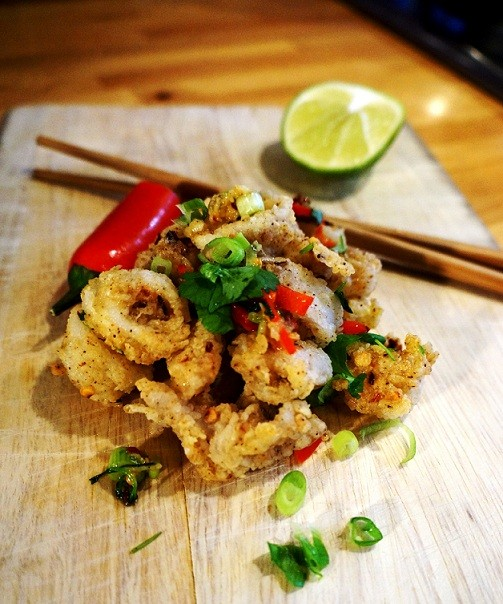 Fried Calamari Recipe – also known as Salt and Pepper Squid
