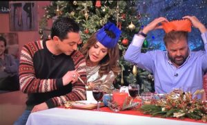 Theo and Trinny ITV This Morning Christmas Special 2016