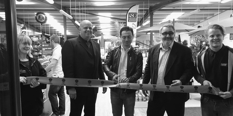 Opening Weber World BBQ Showroom at the Riverside Garden Centre