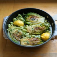 Braised Lettuce - delicious braised gem lettuce