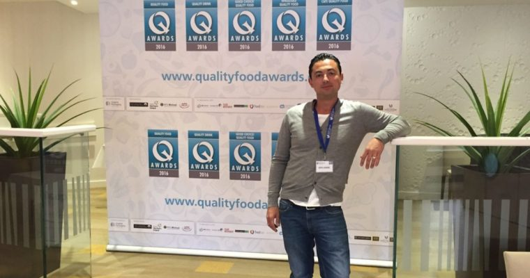 Judging at the Quality Food Awards 2016