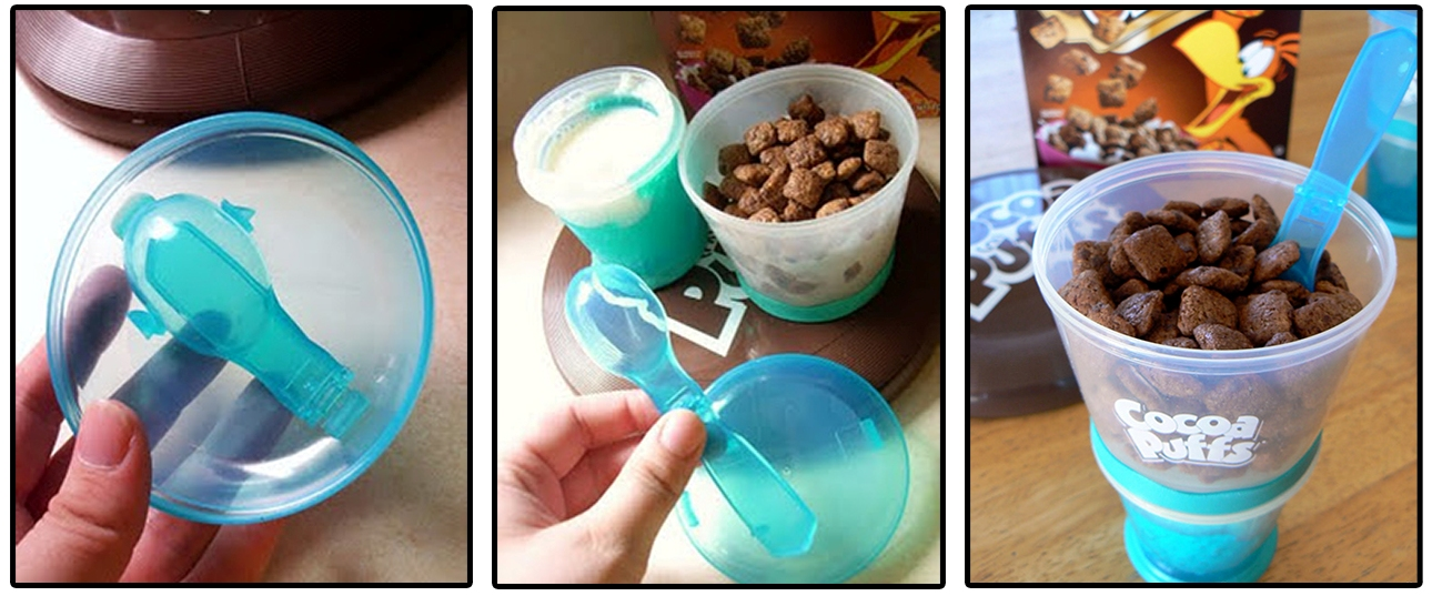 Cocoa Puffs Container for Dairy Promos