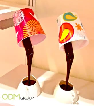 Promotional Gift Idea - Chocolate Cup LED Lamp