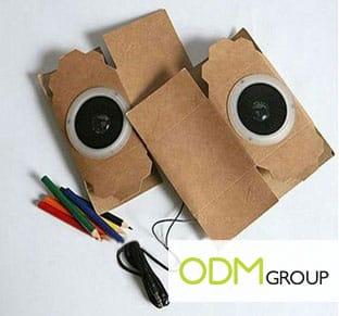 Promo Gift - Foldable Paper Speaker