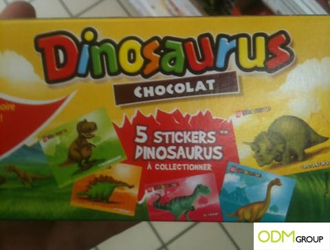 Dinosaurus Sticker Gift with Purchase