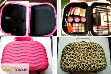 Rubber Case Cosmetic Organiser Pouch