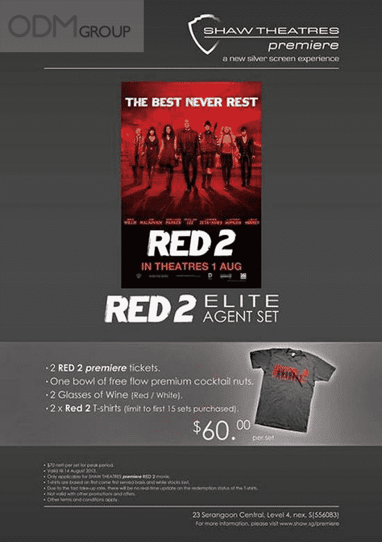 Be a Secret Agent with Red 2's Limited Edition Agent Set