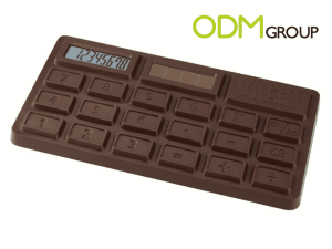 Promotional Products: Chocolate Calculator