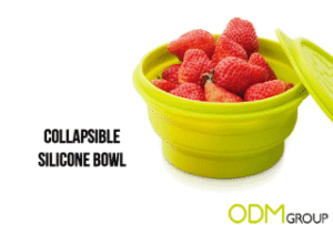 Collapsible Silicone Bowl Promotional Gift