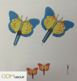 Custom Earphones Butterfly Design