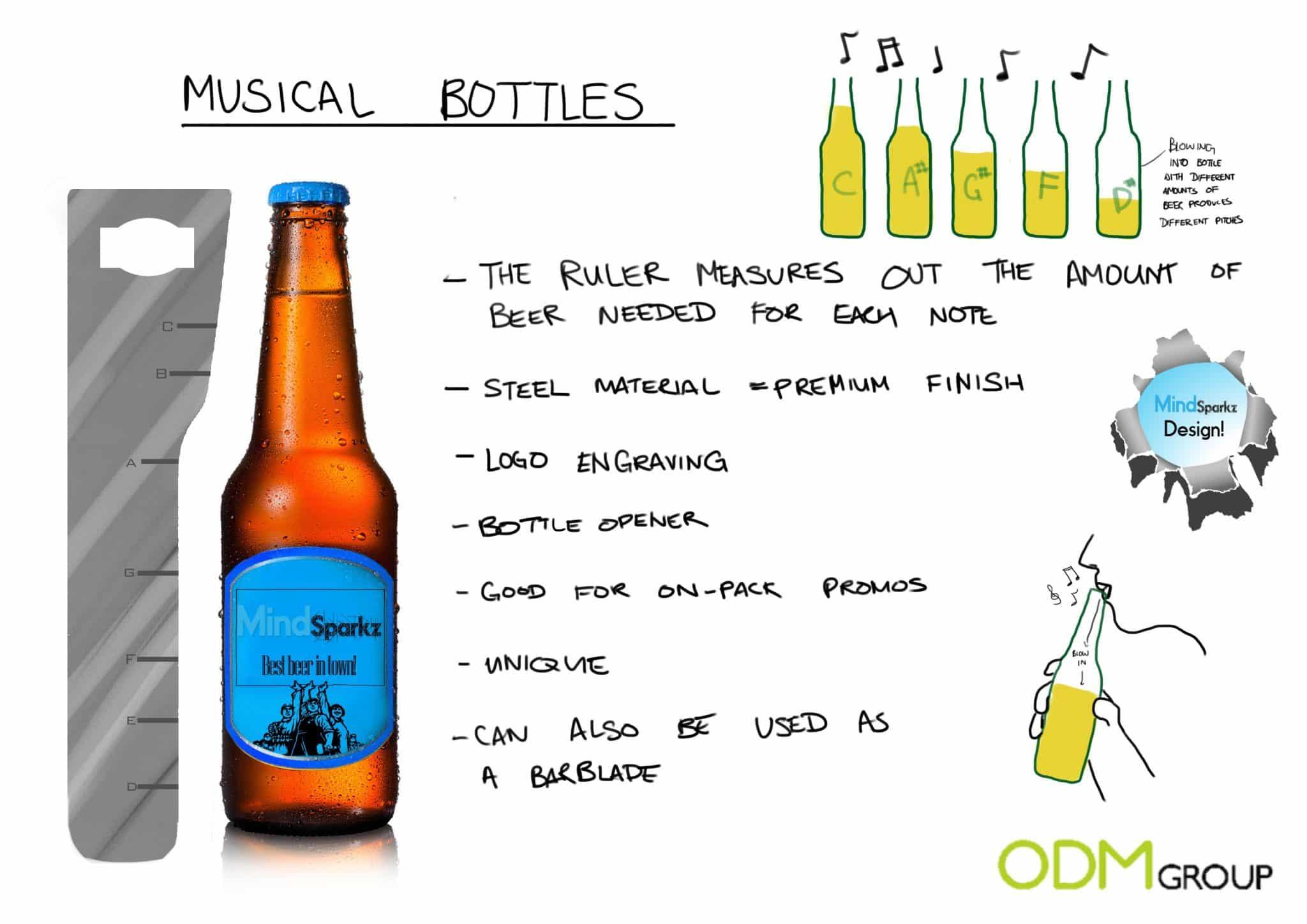 New original design beer bottle openers