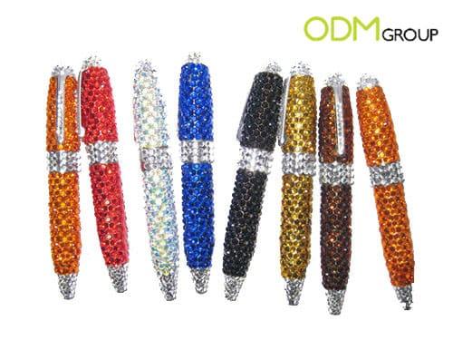 Promotional Idea - Pantone Crystal Pens