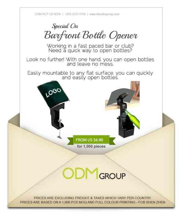 Special Offer for Bar Marketing - Barfront Bottle Opener