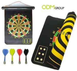 marketing gift game dart board