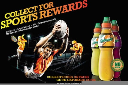 Gatorade launches gift redemption campaign in UK