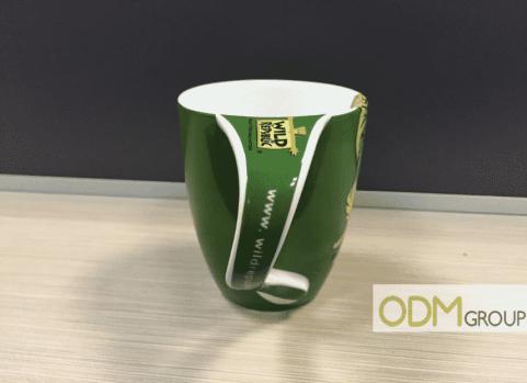 Curved Handle Mug