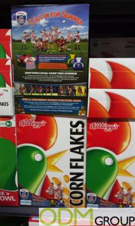 On Pack Promotions- Corn Flakes Breakfast Cerea