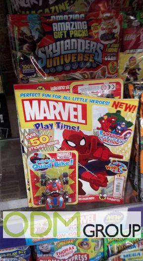 Pull Back Quad Bike - On Pack Promotion by Marvel