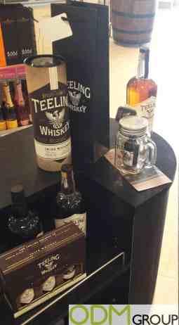 Teeling Whiskey's Mason Jar as Original Marketing Gift